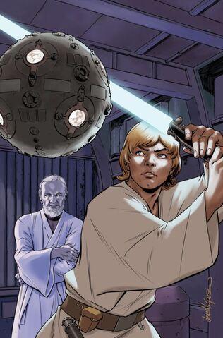 File:Star Wars Vol 2 33 Star Wars 40th Anniversary Variant Textless.jpg