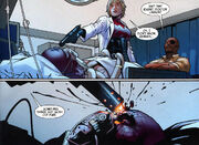 Ultimate Comics Avengers Vol 1 6 page -- Red Skull & Petra Laskov (Earth-1610)