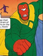 Vision (Earth-61422) from Ultimate FF Vol 1 6 001