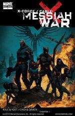 X-Force Cable Messiah War Vol 1 1