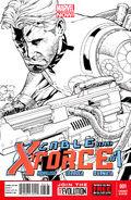 Cable and X-Force Vol 1 1 Joe Quesada Sketch Variant