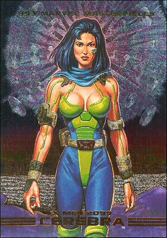 File:Cerebra (Earth-928) from Marvel Masterpieces Trading Cards 1993 Set 0001.jpg