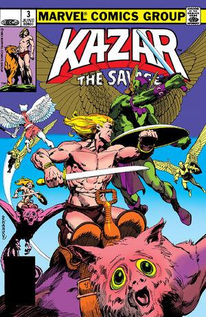 Ka-Zar the Savage Vol 1 3