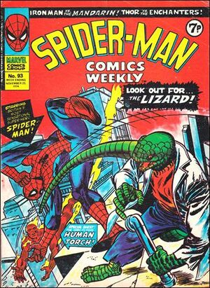 Spider-Man Comics Weekly Vol 1 93