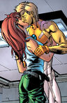 Joshua Foley (Earth-616) and Rahne Sinclair (Earth-616) from New X-Men Vol 2 3 0001