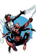 Amazing Spider-Man & Silk The Spider(fly) Effect Vol 1 4 Textless