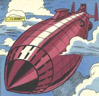 Flying Fortress (Doctor Doom) from Avengers Vol 1 1.5 0001