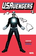 U.S.Avengers Vol 1 1 Hawaii Variant