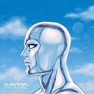 Silver Surfer Vol 8 1 Hip-Hop Variant Textless