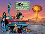 X-Force Vol 1 81 Adam Pollina Pinup