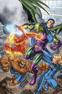 Marvel Adventures Fantastic Four Vol 1 2 Textless