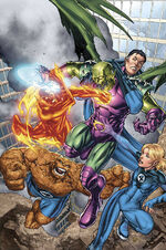 Marvel Adventures Fantastic Four Vol 1 2 Textless