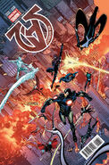 New Avengers Vol 3 17 Jimenez Variant