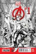 Avengers Vol 5 1 Deadpool Sketch Variant