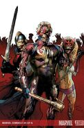 Marvel Zombies 3 Vol 1 4 Textless
