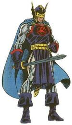 Dane Whitman (Earth-616) from Official Handbook of the Marvel Universe Vol 1 2 0001