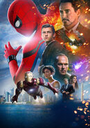 Spider-Man Homecoming poster 004 Textless