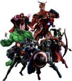 Avengers (Earth-12131) from Marvel Avengers Alliance 0001