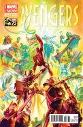 Avengers Vol 5 25 Marvel Comics 75th Anniversary Variant