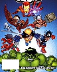 Super Hero Squad (Earth-11911) from Super Hero Squad Hero Up! Vol 1 1