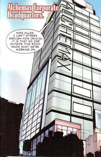 Alchemax from Superior Spider-Man 23