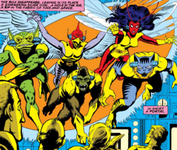 Ani-Men (Earth-616) from X-Men Vol 1 94 0001