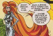 Medusalith Amaquelin (Earth-616) in Dark Riders garb from X-Factor Vol 1 68