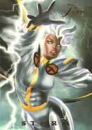 Ororo Munroe (Earth-616) from Marvel Annual Flair (Trading Cards) 0002