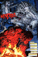 Thaddeus Ross (Earth-616) and Wendigo (Race) from King-Size Hulk Vol 1 1 001