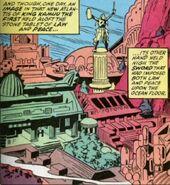 Atlantis (Kamuu) from Saga of the Sub-Mariner Vol 1 1 001