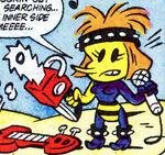 Bee-Dazzler (Earth-8311) from Peter Porker, The Spectacular Spider-Ham Vol 1 17 0001