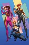 A-Force Vol 2 1 Marvel '92 Variant Textless