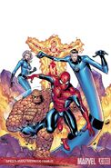 Spider-Man and the Fantastic Four Vol 1 1 Textless