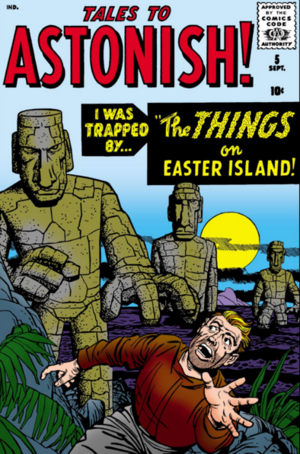 Tales to Astonish Vol 1 5