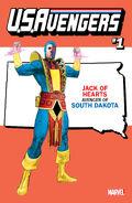 U.S.Avengers Vol 1 1 South Dakota Variant