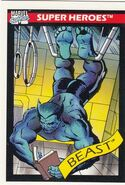 Henry McCoy (Earth-616) from Marvel Universe Cards Series I 0001