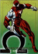 Kyle Gibney (Earth-616) from Marvel Masterpieces Trading Cards 1992 0001