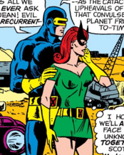 Jean Grey and Scott Summers (Earth-616) from X-Men Vol 1 48 0001