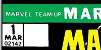 Marvel Team-Up Vol 1
