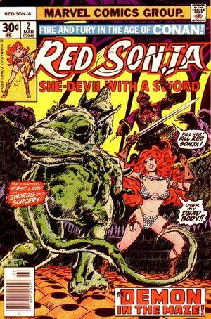 Red Sonja Vol 1 2