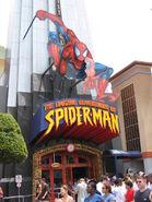 The Amazing Adventures of Spiderman Entrance Islands of Adventure