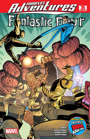 Marvel Adventures Fantastic Four Vol 1 35