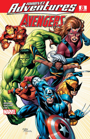 Marvel Adventures The Avengers Vol 1 8