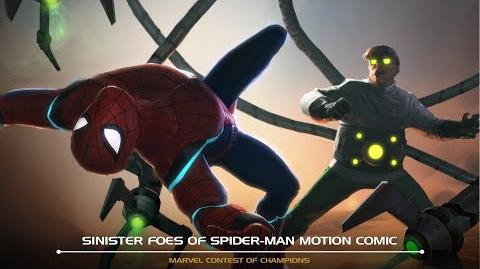 Sinister Foes of Spider-Man Motion Comic Marvel Contest of Champions