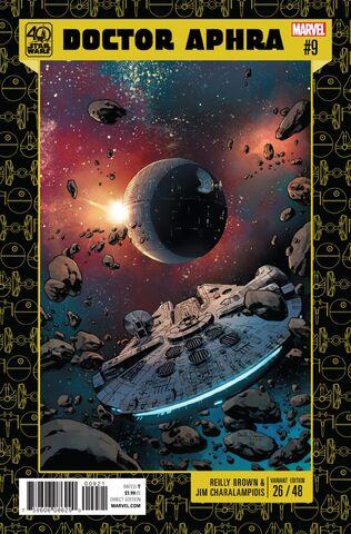 File:Star Wars Doctor Aphra Vol 1 9 Star Wars 40th Anniversary Variant.jpg