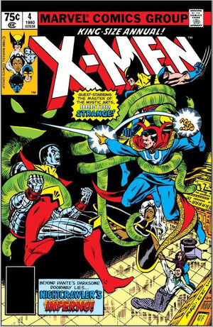 X-Men Annual Vol 1 4