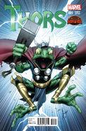 Thors Vol 1 1 Keown Variant