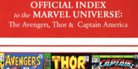 Avengers, Thor & Captain America: Official Index to the Marvel Universe Vol 1 3