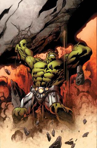 File:Hulk Vol 3 3 Bagley Variant Textless.jpg