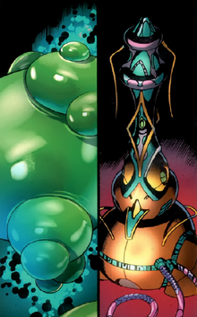 Isogen Orbs and Exogen Spice from Fantastic Four Vol 1 577 0001